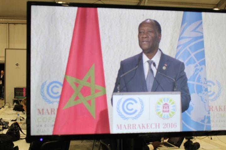 Changements climatique:  Le Président de la République appelle à plus d'engagement pour rendre l'Accord de Paris opérationnel