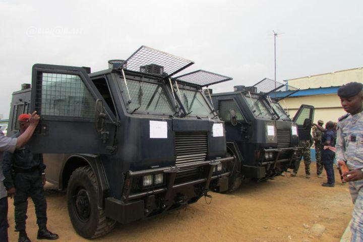 Lutte contre le terrorisme: les forces de l'ordre ivoiriennes dotées de près de 200 véhicules